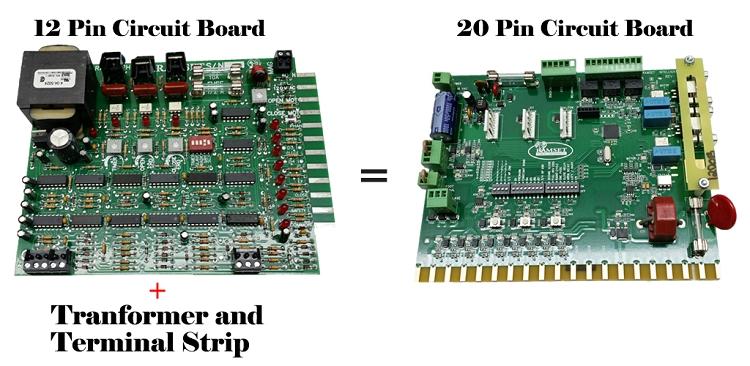 Ramset Control Board 12 Pin 800 62 04