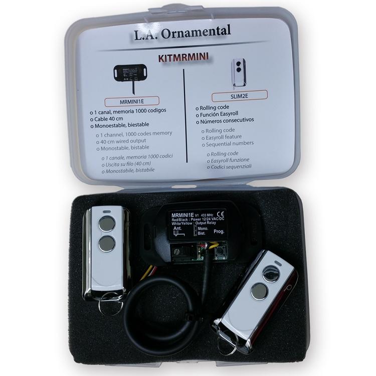 Garage door opener mini receiver kit mhz