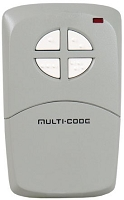 Multi-Code 4 Button Remote Control with 300MHZ OR 310 MHZ