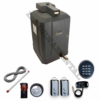 Ramset 300 residential gate opener kit 4