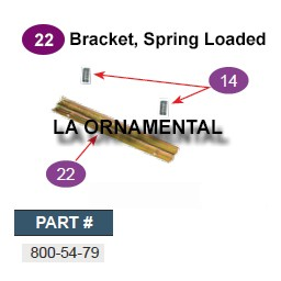 Ramset 800-54-79 Bracket Spring Loaded - 5 1/2""