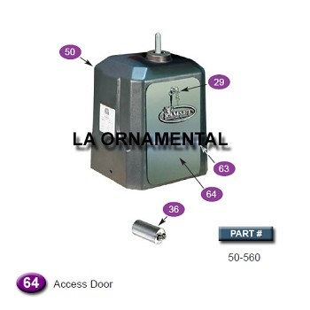 Ramset 50-560 Access Door