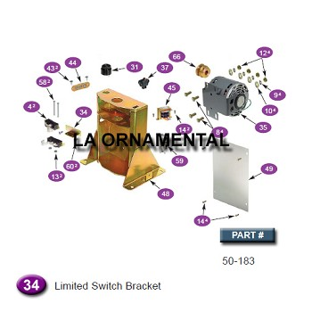 Ramset 50-183 Limited Switch Bracket